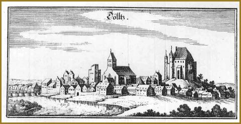 Kupferstich der Stadt Tölz